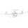 Drone Syma X5UW-D - Cor branca - Retransmissão FPV - Sem cabeça - Câmera HD - Foto 300W - Câmera 90º - Até 70 metros - Uma chave Take-Off / Landing - Controle por meio de APP - Drone de iniciação - Item2