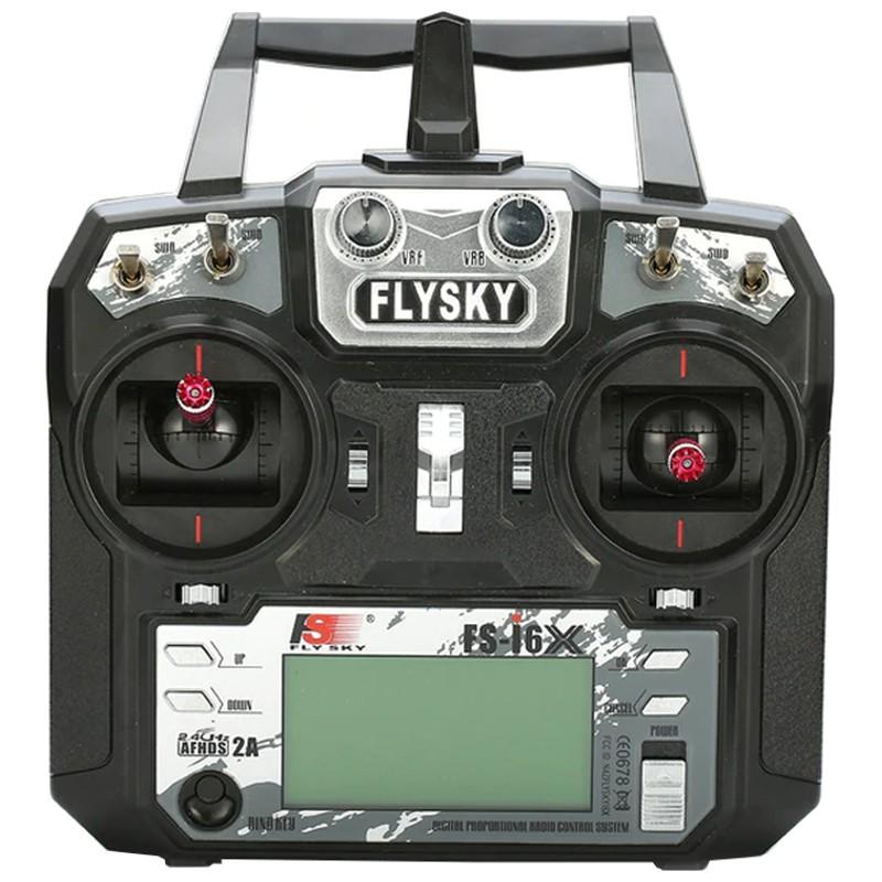 Emissor FlySky FS-i6X + Receptor FlySky A8S