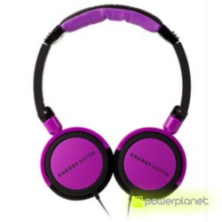 Auscultadores Energy DJ 400 Black Violet - Item1