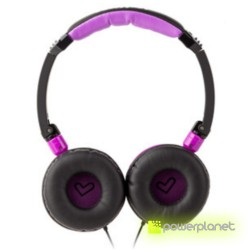 Auscultadores Energy DJ 400 Black Violet - Item2