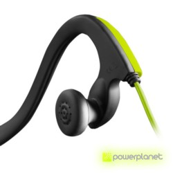 Energy Earphones Running One Neon Green Mic - Ítem1