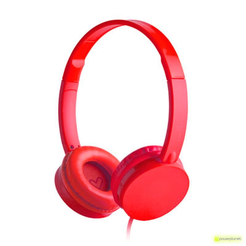 Energy Headphones Colors Cherry