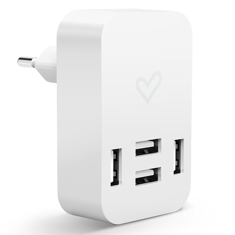 Energy Home Charger 4.0A Quad USB