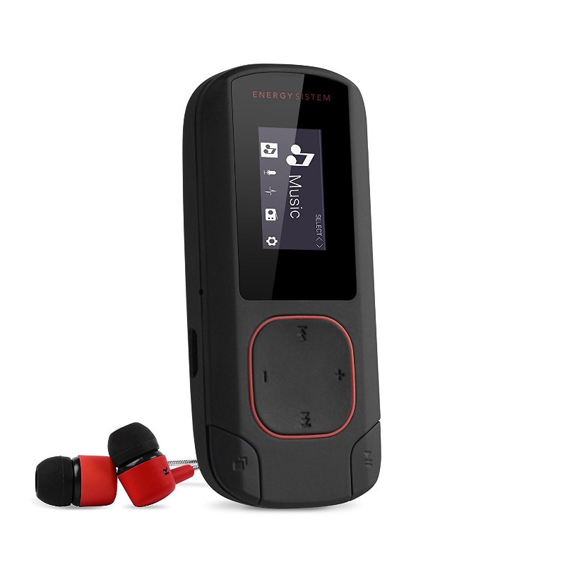Energy MP3 Clip Bluetooth Coral