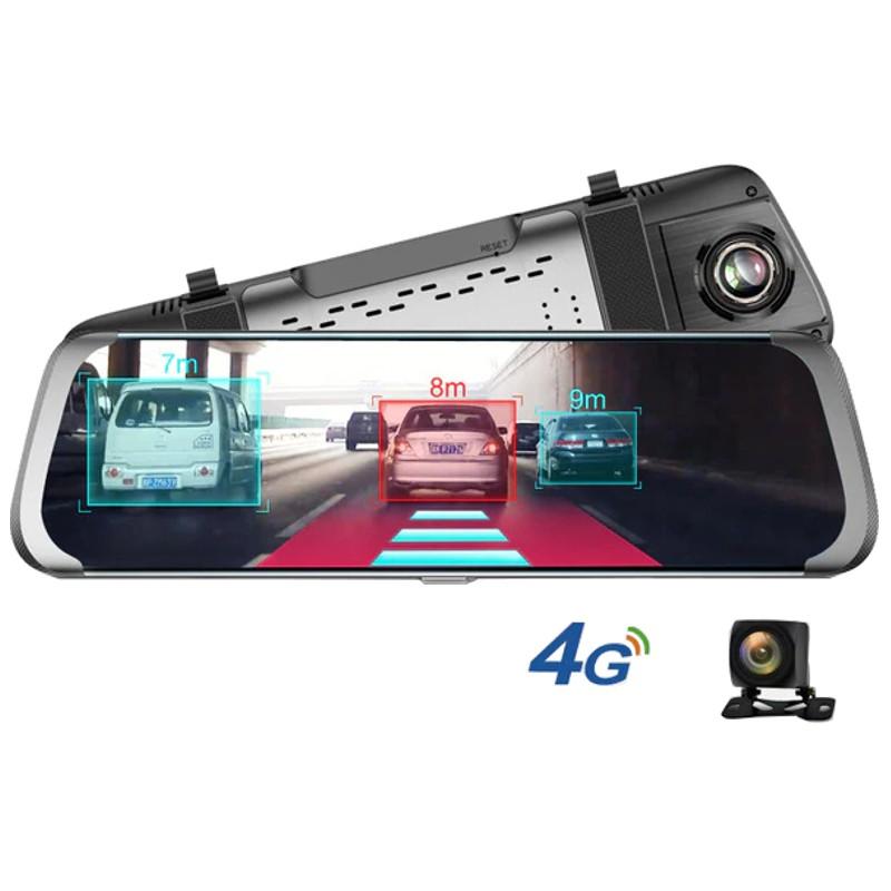 Espelho Retrovisor Junsun A930 10 Android GPS com Câmaras Park Assist ADAS Full HD