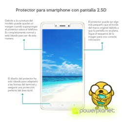 Protetor de vidro temperado Xiaomi Redmi Pro - Item1