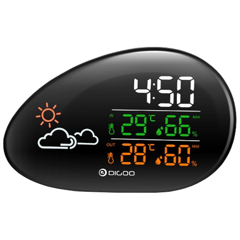 Estación meteorológica Digoo DG-THS01 Reloj