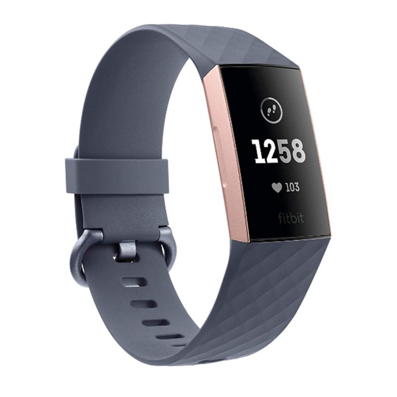Fitbit Charge 3 Bluish Gray / Rose Gold