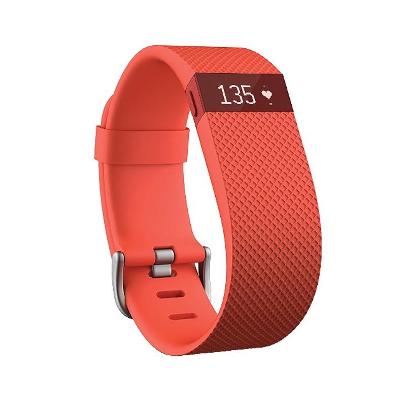 Smartband Fitbit Charge HR Pequeña Naranja