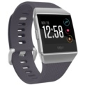 Fitbit Ionic Silver / Bluish Gray - Bluish gray color - Sleep Monitoring - Objectives - Comprehensive Measurement - Workouts - Applications - Exercise Recognition - Cardiovascular Analysis - GPS - GLONASS - Submersible Up to 50 Meters