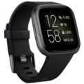 Fitbit Versa 2 Black Aluminum / Carbon Black Strap