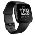 Fitbit Versa Black Aluminum - Smartwatch - Smartphone notifications - Heart rate monitoring - Autonomy of up to 4 days - Phases of Sleep - Submersible up to 50 meters - Monitor the lengths you do - Wireless synchronization