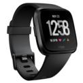 Fitbit Versa Alumínio Preto - Smartwatch - Notificações de smartphones - Monitoramento da frequência cardíaca - Autonomia de até 4 dias - Fases do sono - Submersível até 50 metros - Monitorar os comprimentos que você faz - Sincronização sem fio