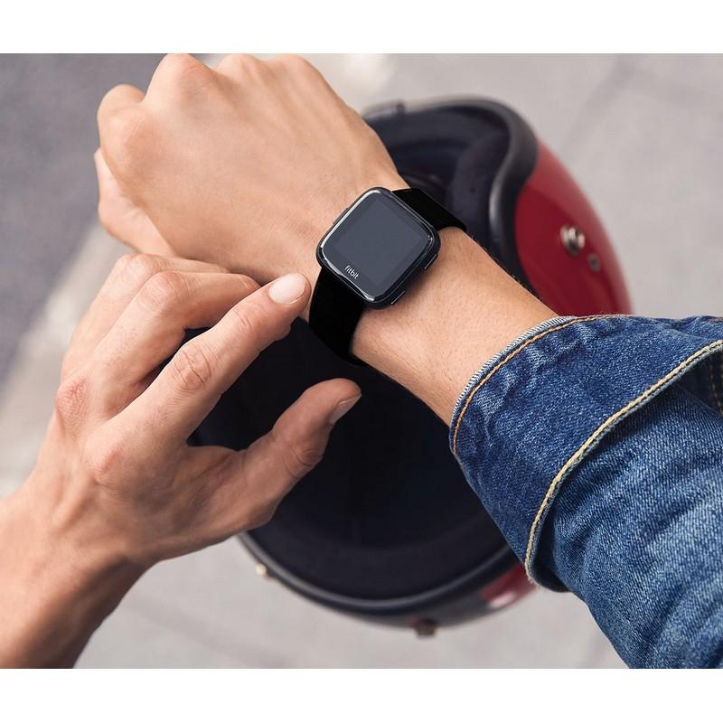 ab735f0e80 Smartwatch Fitbit Versa Alumínio Preto - PowerPlanet