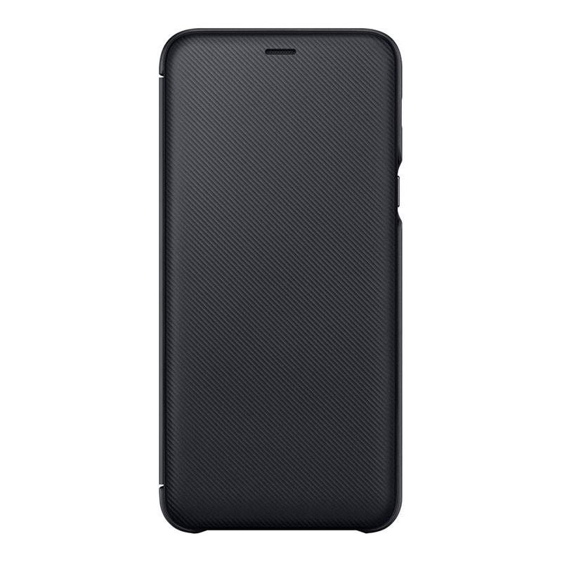 new styles d212b 5faa5 Samsung Galaxy A6 Plus 2018 Wallet Cover Black