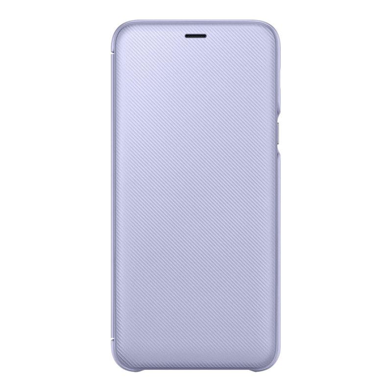 super popular 4f2f2 833de Samsung Galaxy A6 Plus 2018 Wallet Cover Violet