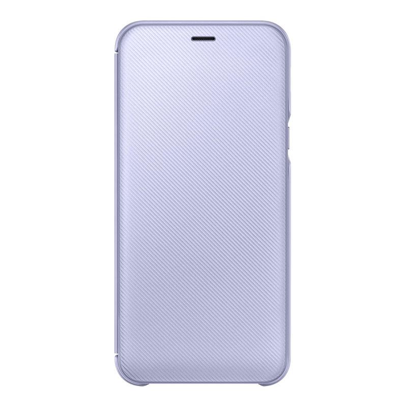 Samsung Galaxy A6 2018 Wallet Cover Violet