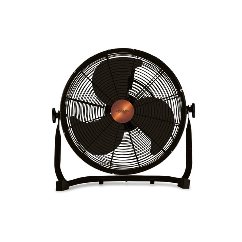 Cecotec ForceSilence 3000 Pro - Color negro - 3 aspas de gran diámetro (40 cm) - Motor 100 % de cobre-3 velocidades de Funcionamiento- Totalmente Ajustable - Potencia (90 W) - Rejilla de Seguridad