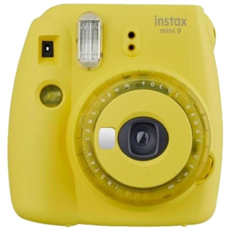 Fujifilm Instax Mini 9 Amarillo Clear - Cámara Instantánea