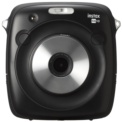 Fujifilm Instax Square SQ10 Negro - Cámara Instantánea - Color Negro - PanelTFT LCD a Color - Seleccionar e Imprimir - Cámara Híbrida - Filtros - Imprime cuando Quieras - Rosca para Trípode - Ranura MicroSD - Memoria Interna de hasa 50 Fotos