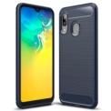 Funda de silicona Carbon Ultra para Samsung Galaxy A20E