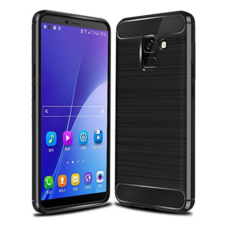 Funda de silicona Carbon Ultra para Samsung Galaxy J6 2018