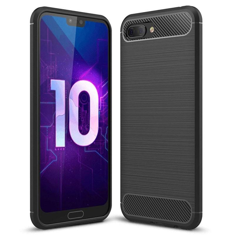 Funda de silicona Carbon Ultra para Huawei Honor 10