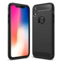 Capa de silicone Carbon Ultra para iPhone XR