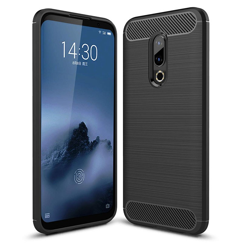 Funda de silicona Carbon Ultra para Meizu 16th