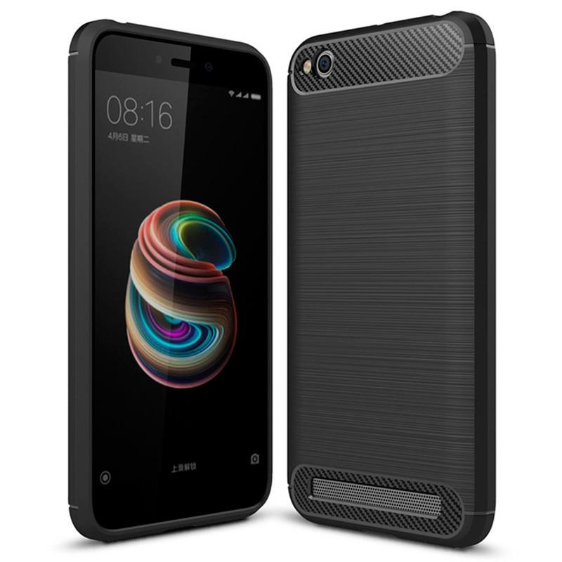 Capa de silicone Carbon Ultra para Xiaomi Redmi 5A