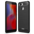 Funda de silicona Carbon Ultra para Xiaomi Redmi 6