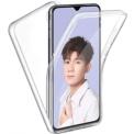 Funda de silicona 3D en color transparente para Xiaomi Mi 9 Lite