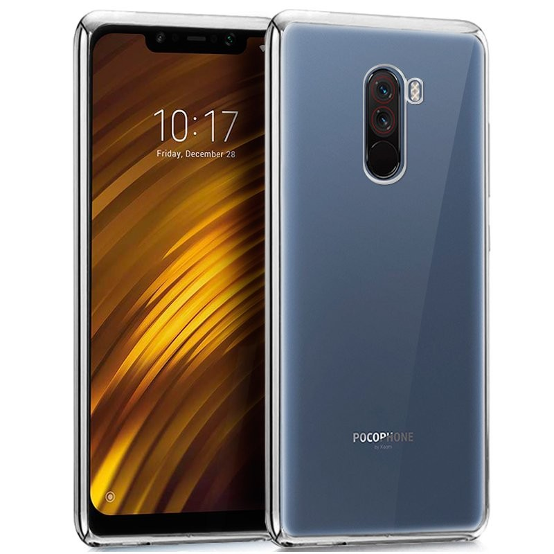 hot sales 82905 e7bd9 Xiaomi Pocophone F1 TPU Case Metallic Frame