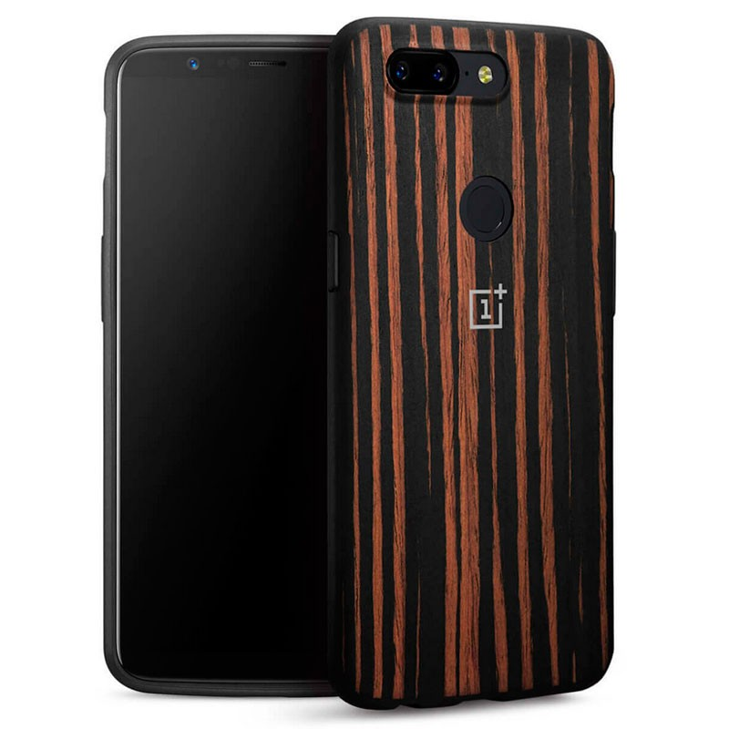 huge selection of 14656 8233e Original Oneplus 5T Ebony Wood Bumper Case