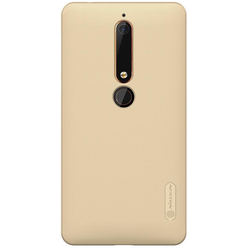 Funda de goma Frosted de Nillkin para Nokia 6 2018