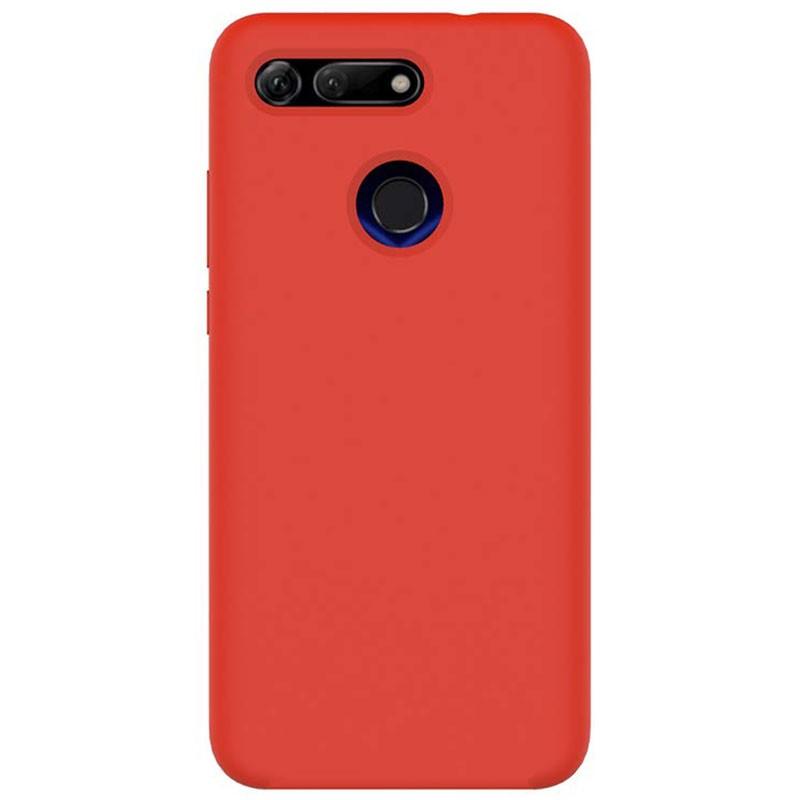 Capa de silicone Liquid Premium para Huawei Honor View 20