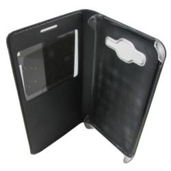 Caso tipo livro com janela Samsung Galaxy J3 - Item4