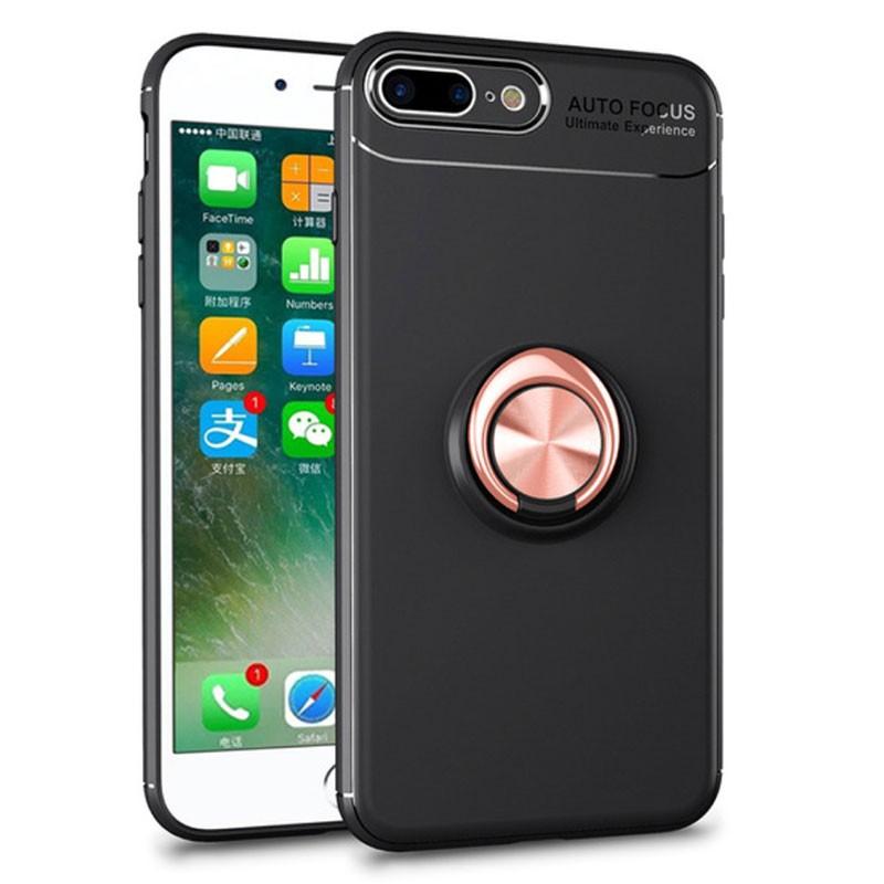 Capa Magnetic Ring para iPhone 8 Plus / 7 Plus