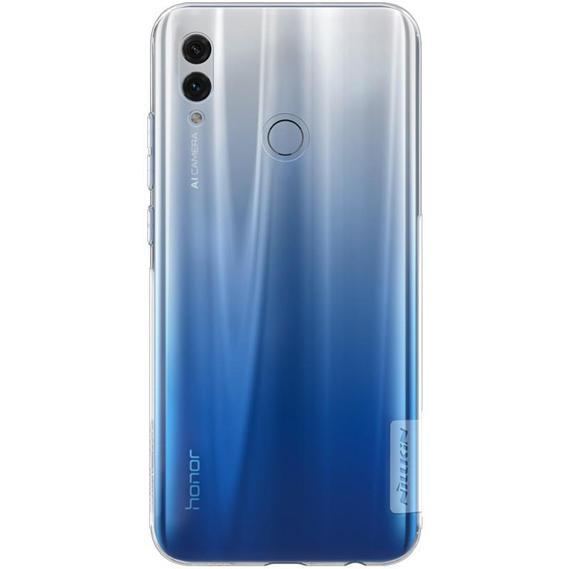 Capa de silicone Nature de Nillkin para Huawei Honor 10 Lite
