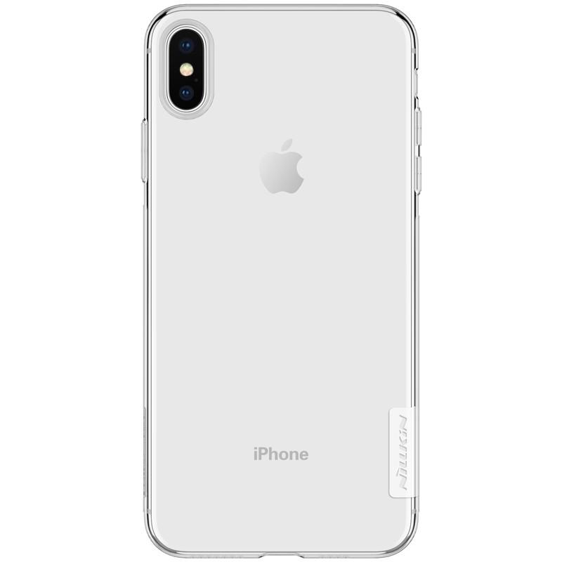 Capa de silicone Nature de Nillkin para iPhone XS Max