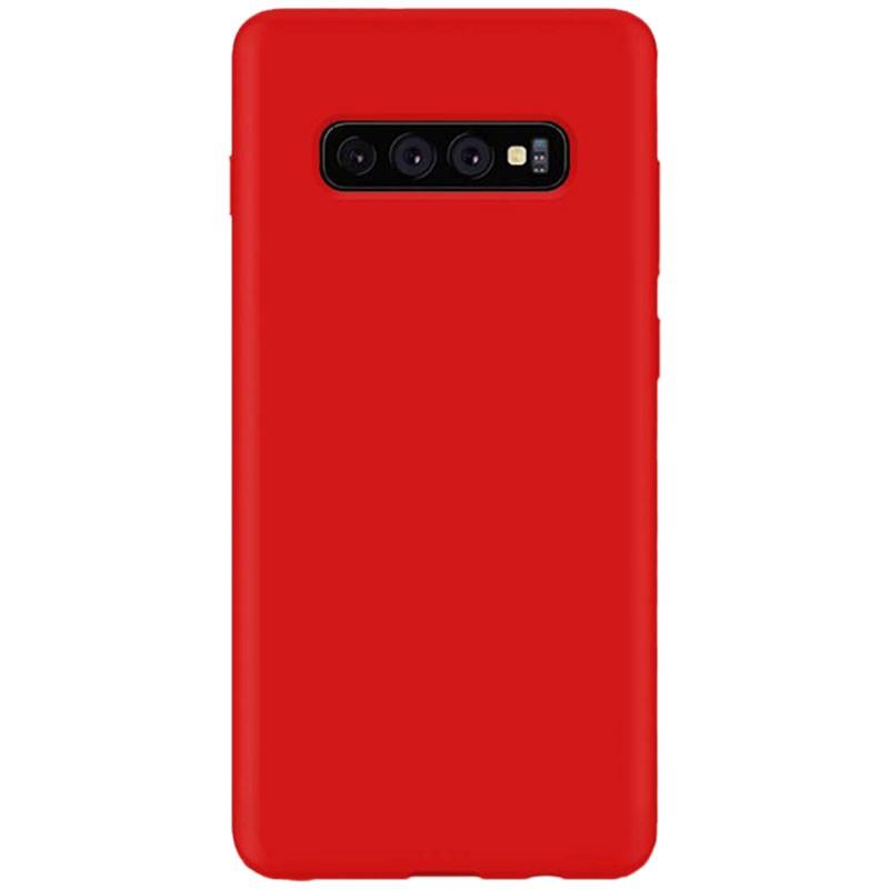 Funda de silicona Liquid Premium para Samsung Galaxy S10