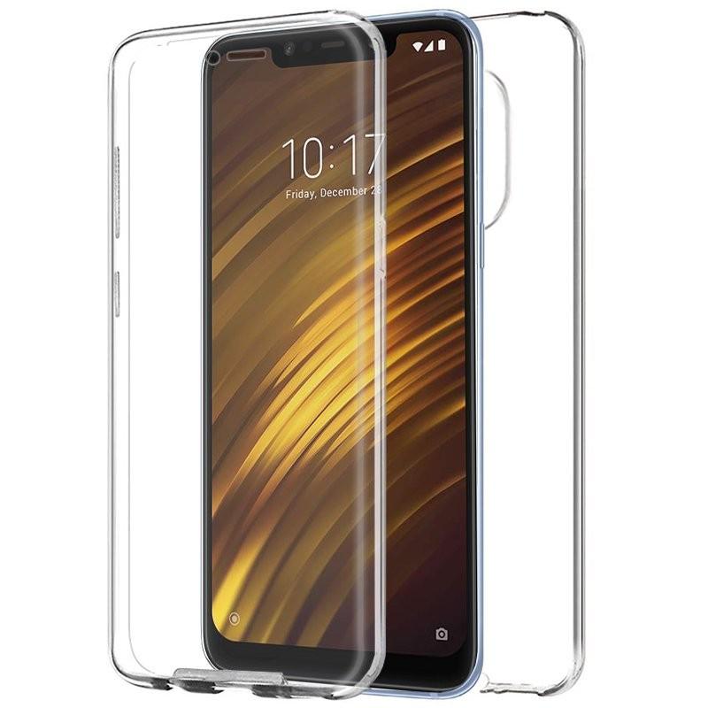 reputable site 8b763 c0255 Xiaomi Pocophone F1 3D Clear TPU Cover