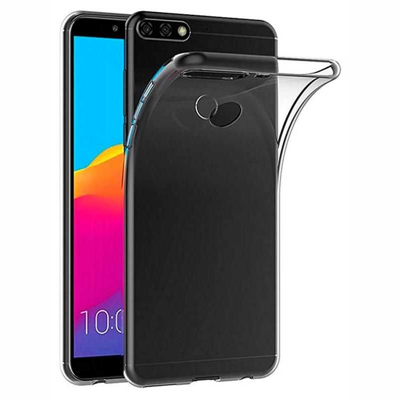 Funda de silicona para Huawei Y7 2018