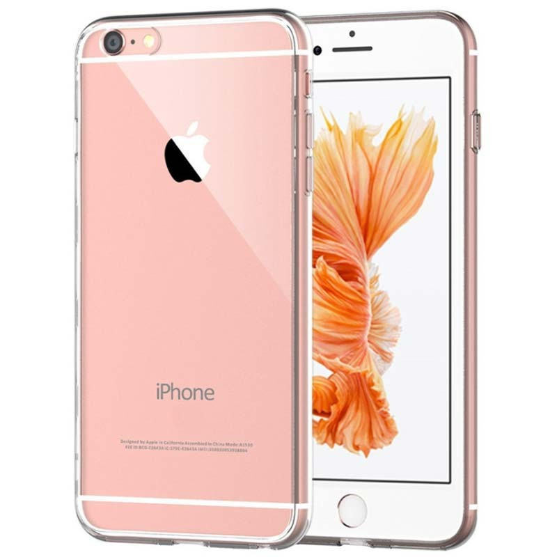 Funda iPhone 6 Plus/6S Plus Funda TPU de silicona Funda iPhone 6