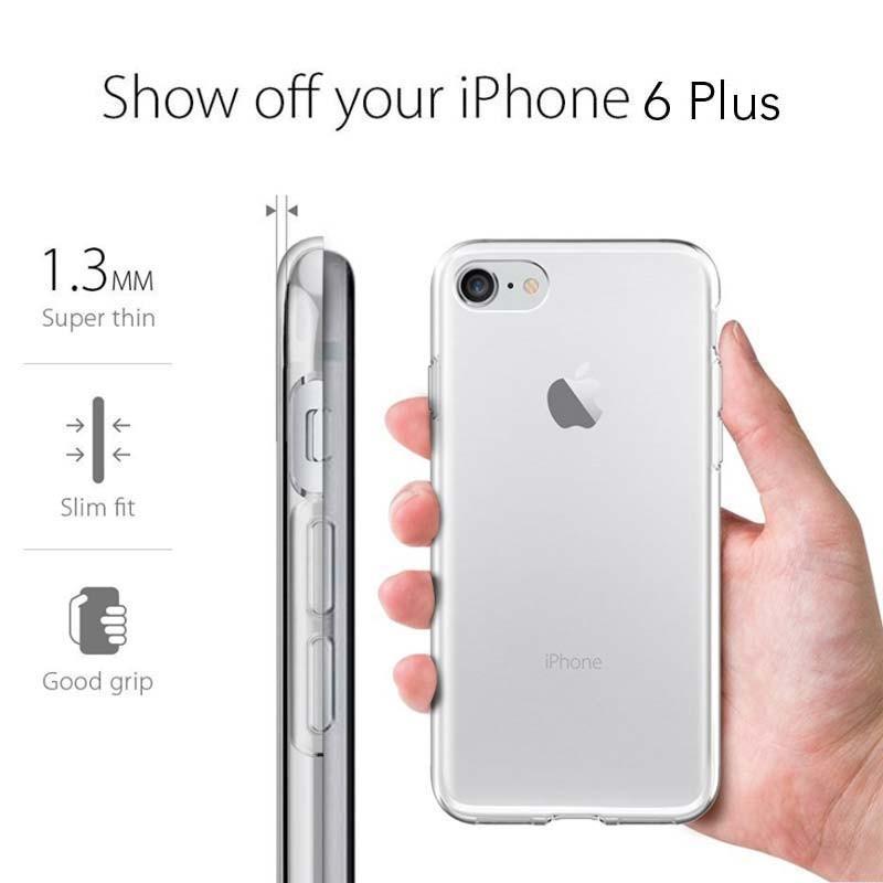 Funda Silicona IPhone 6 Plus / 6s Plus (colores) - Doctor Tronic