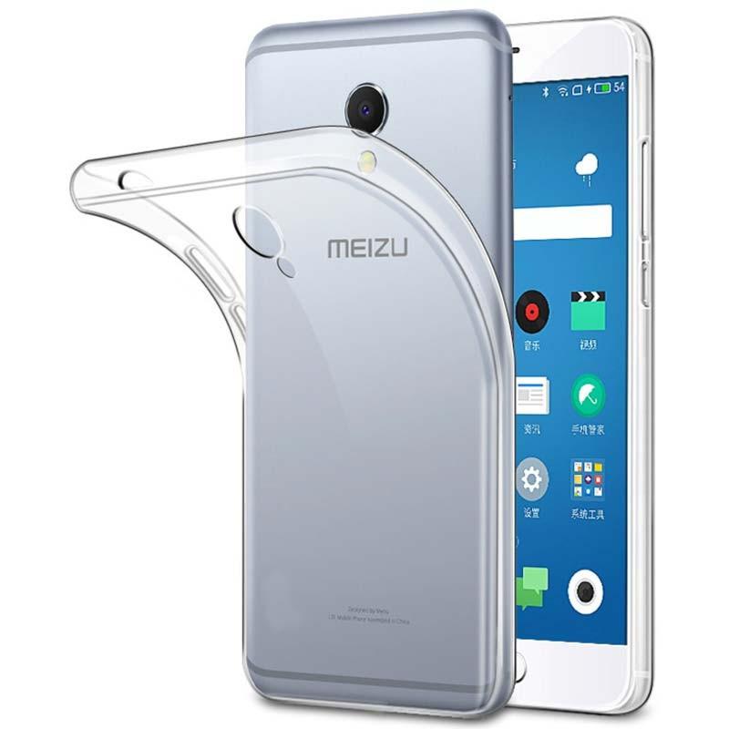 Funda de silicona para Meizu M5S