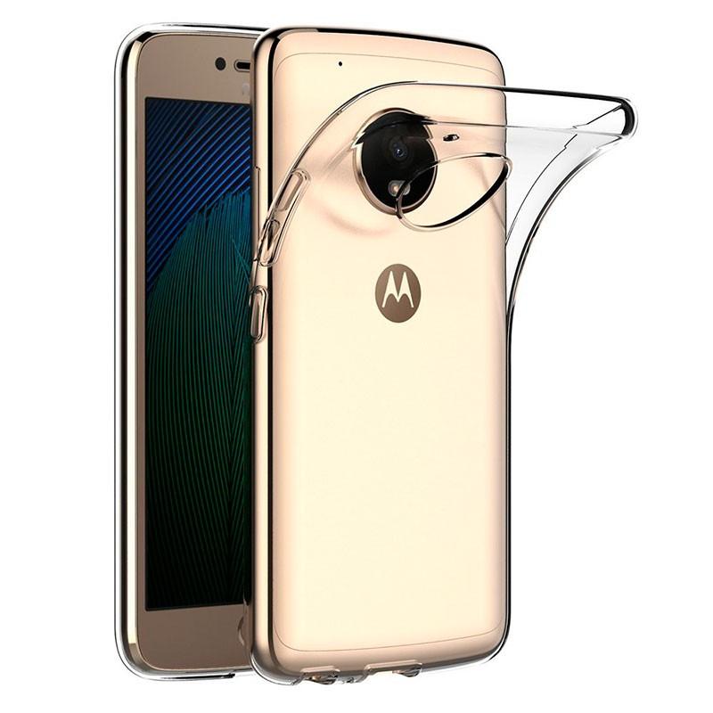 Capa de silicone para Motorola Moto G5 Plus