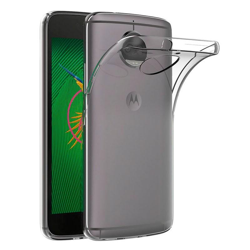 Capa de silicone para Motorola Moto G5S Plus
