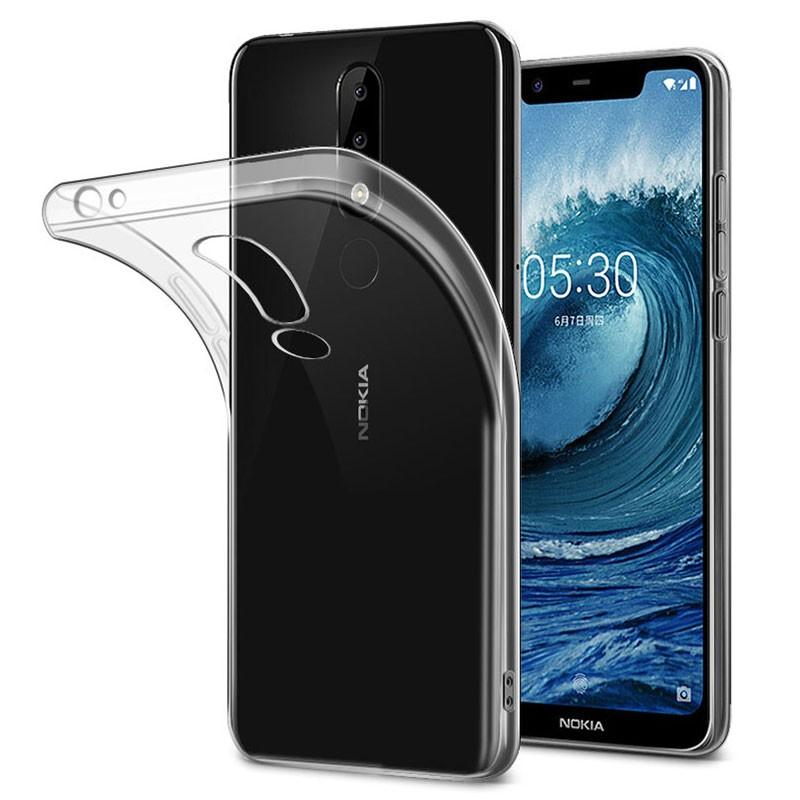 Funda de silicona para Nokia 5.1
