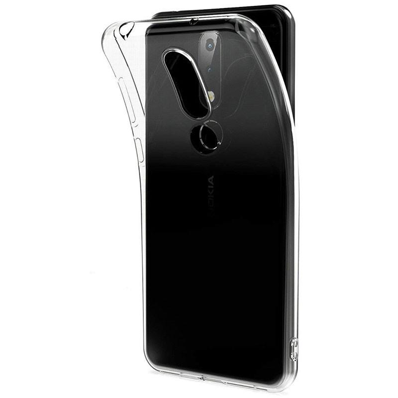 Funda de silicona para Nokia 6.1 Plus